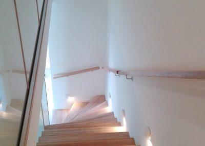 Drevené schody- obklad